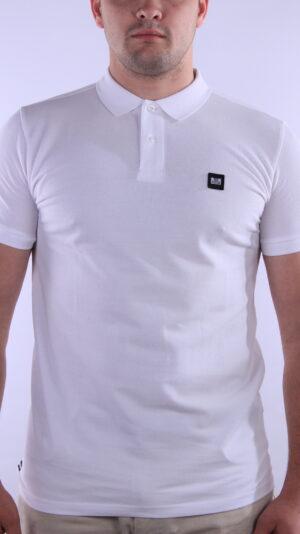 Weekend Offender Caneiros Polo Shirt White