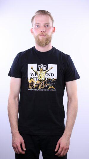 Купить в Украине Weekend Offender Leo Gregory T-Shirt Black Оригинал