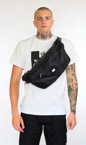 Weekend Offender Oversized Body Bag Black