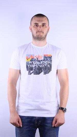 Купить в Украине Weekend Offender Peace T-Shirt White Оригинал