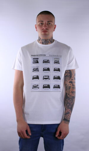 Купить в Украине Weekend Offender Plattenspieler T-Shirt White Оригинал