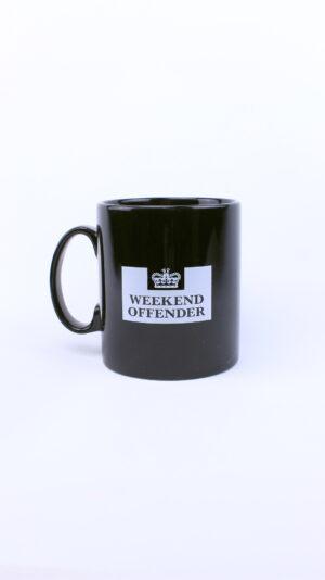 Weekend Offender Prison Mug Black