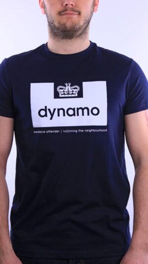 Купить в Украине Weekend Offender Dynamo T-Shirt Navy Оригинал