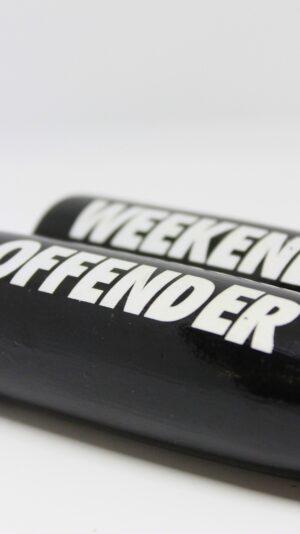Weekend Offender Skipping Rope Black
