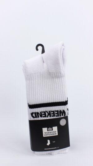 Weekend Offender WO Sports Socks White