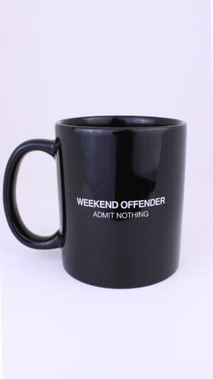 Weekend Offender W.O.A.N. Mug Black