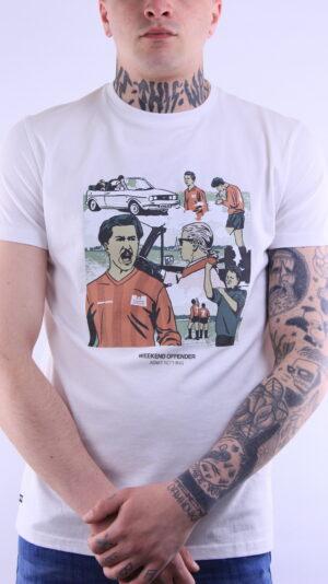 Купить в Украине Weekend Offender Yeti T-Shirt White