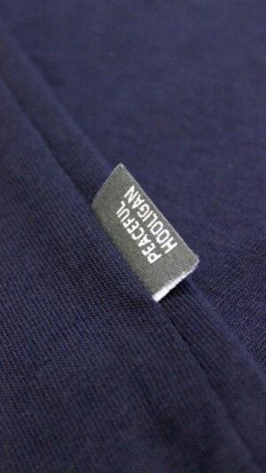Peaceful Hooligan Current T-Shirt Navy