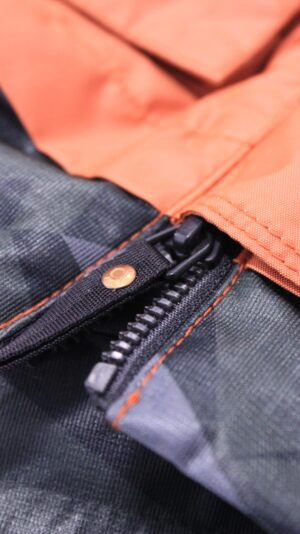 MA.Strum Light Weight Vallon Smock - Gold Flame