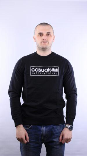 Weekend Offender Casuals International Sweatshirt Black