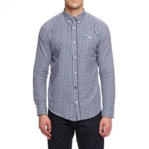 Weekend Offender Check Shirt Blue Check