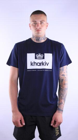 Купить в Украине Weekend Offender City Series Kharkiv T-Shirt Navy Оригинал