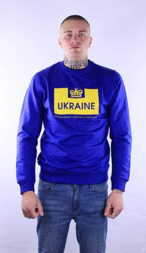 Weekend Offender Euro Series Ukraine Sweatshirt Electric