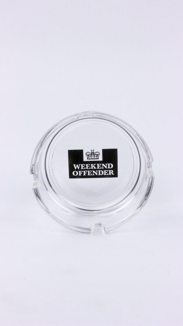 Weekend Offender Glass Ashtray