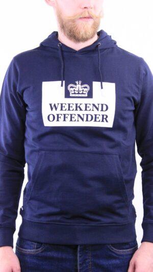 Купить в Украине Weekend Offender HM Service Hoodie Navy Оригинал