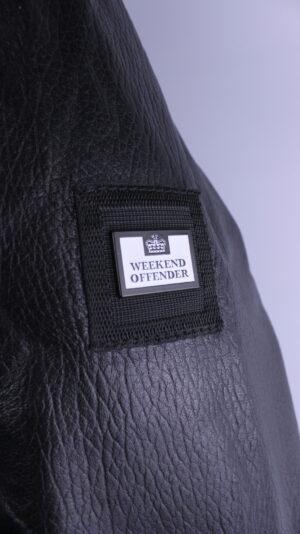 Weekend Offender Joyceman Leather Jacket Black
