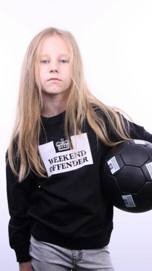 Weekend Offender Kids Penitentiary Sweatshirt Black