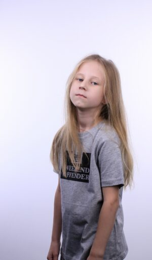 Weekend Offender Kids Prison T-Shirt Grey Marl