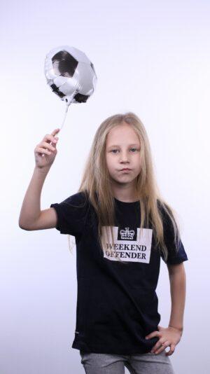 Weekend Offender Kids Prison T-Shirt Navy
