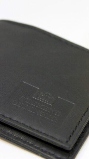 Weekend Offender Leather Wallet Black