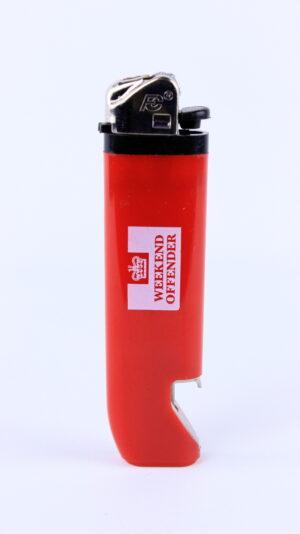 Weekend Offender Lighter Red