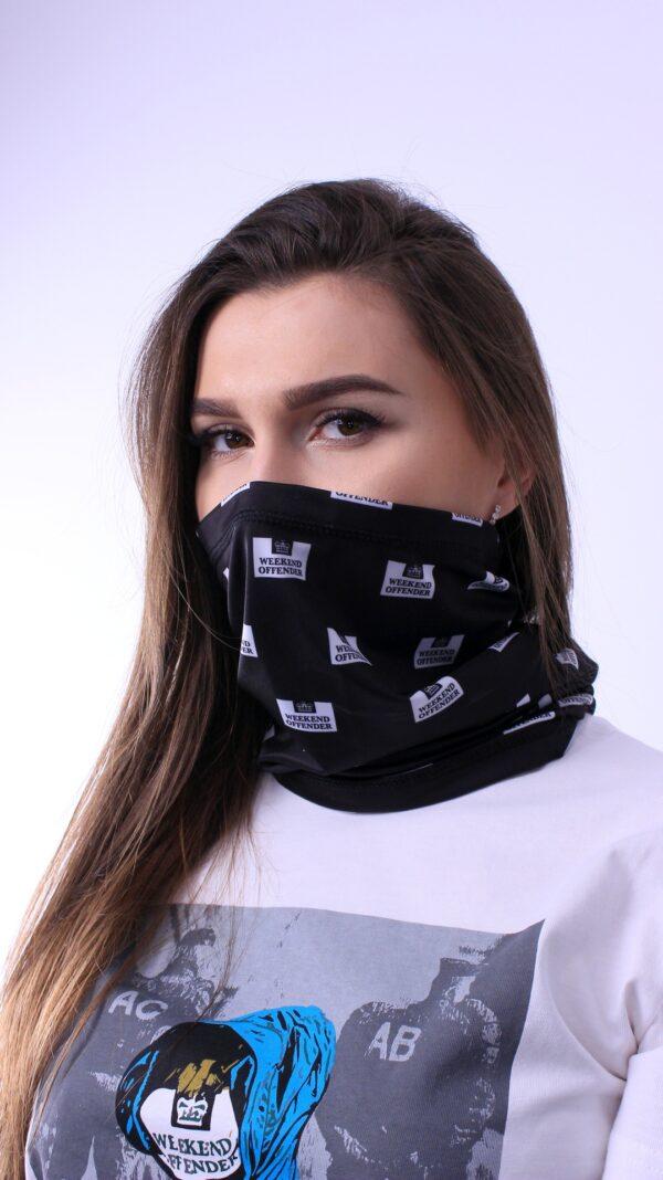 Weekend Offender Neck Gaiter Mask Black