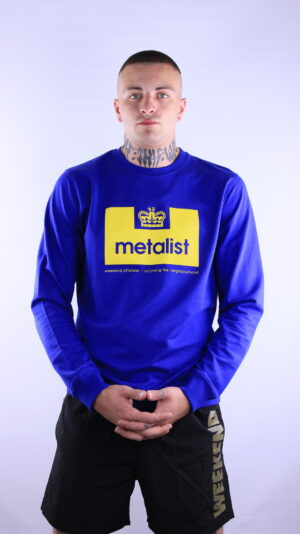 Купить в Украине Weekend Offender Metalist Series Sweatshirt Electric Оригинал