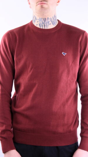 Weekend Offender Napoli Knitwear Burgundy