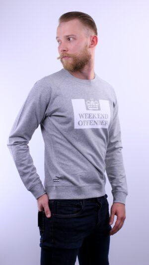 Купить в Украине Weekend Offender Penitentiary Sweatshirt Grey Marl Оригинал