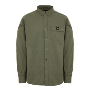 Weekend Offender Postiano Shirt Dark Khaki