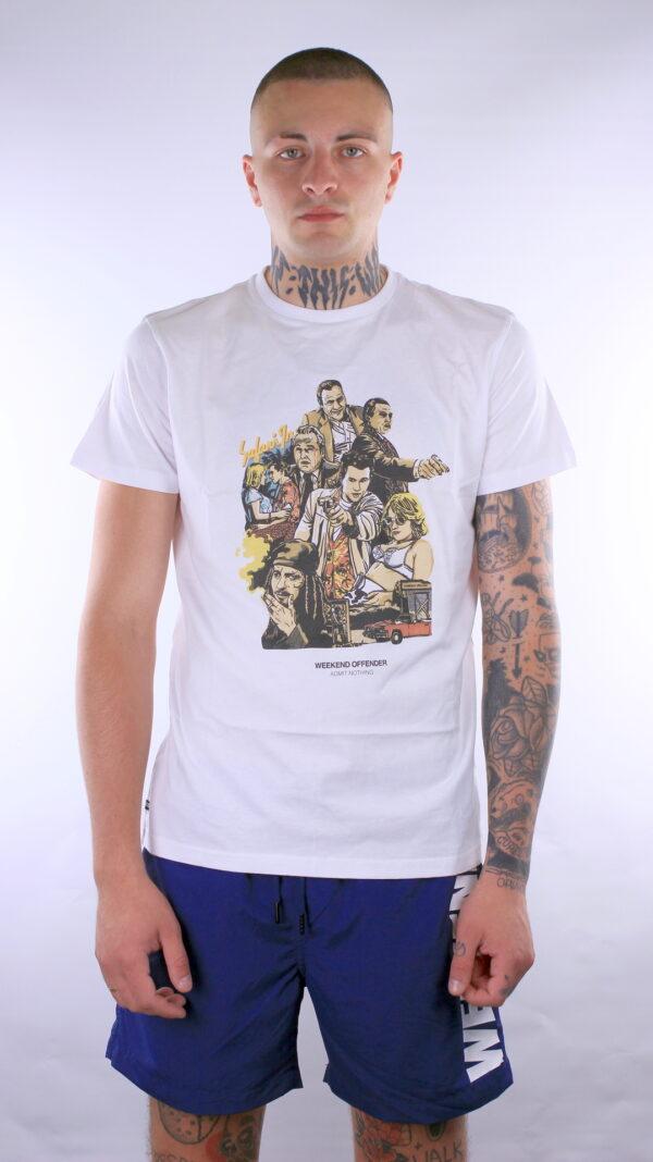 Купить в Украине Weekend Offender True Romance T-Shirt White Оригинал