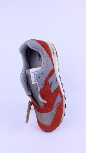 New Balance 577 Red & Grey Made in UK M577PSG