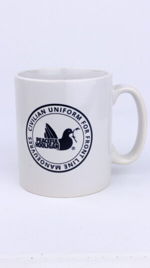 Купить в Украине Peaceful Hooligan Civilian Mug White Оригинал