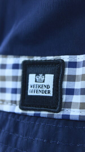 Купить в Украине Weekend Offender Queensland Bucket Hat Navy Оригинал