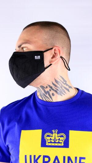 Weekend Offender Parachute Face Mask Black