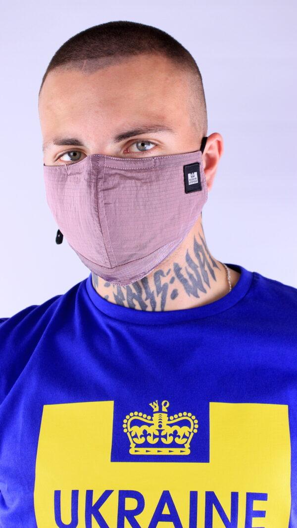 Weekend Offender Ripstop Face Mask Foxglove