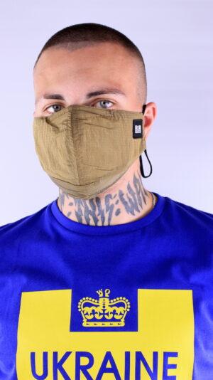 Weekend Offender Ripstop Face Mask Ginger