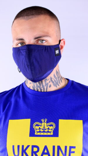 Weekend Offender Ripstop Face Mask Navy