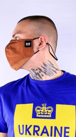 Weekend Offender Ripstop Face Mask Russet