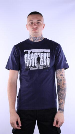 Купить в Украине Peaceful Hooligan Ninetyfive T-Shirt Navy Оригинал
