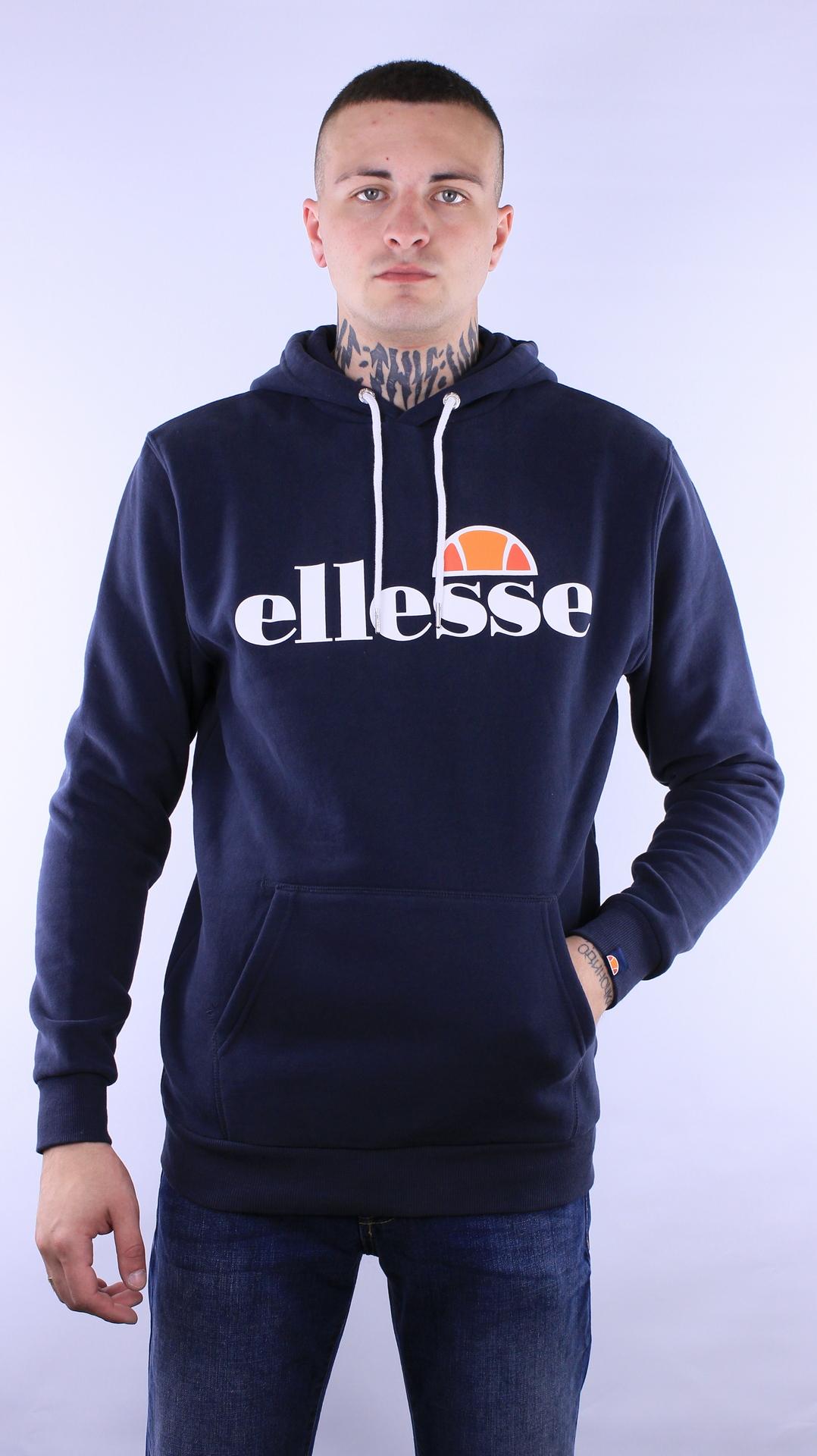 Купить в Украине Ellesse SL Gottero Hoody Navy SHC07407 Оригинал