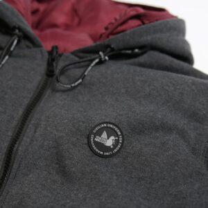Peaceful Hooligan Mitchel Double Jacket Reversible Black
