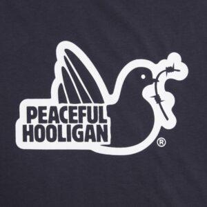 Peaceful Hooligan Outline Hoodie Navy