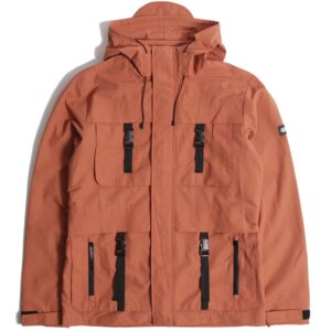 Peaceful Production Ladderman Jacket Burnt Orange