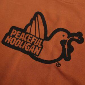 Peaceful Hooligan Outline Hoodie Bombay